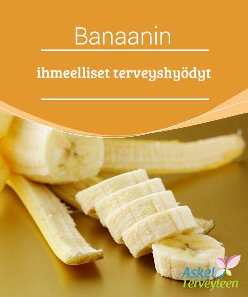 Banaanin ihmeelliset terveyshyödyt   Banaanit ovat #ihanteellisia välipaloja, mutta niillä voi olla joitakin ei-toivottuja #vaikutuksia jos niitä ei käytetä #asianmukaisesti ruokavaliossa.  #Terveellisetelämäntavat