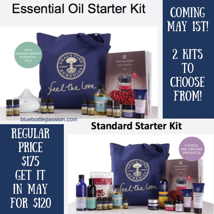 Neal's Yard Remedies / NYR Organic has 2 fabulous kits to choose from when joining the Neal's Yard Remedies family and they are offered at a discounted price in May 2017! Whether you want to specialize in essential oils, or share more traditional beauty and wellness products, May is the time to join NYR Organic! www.fb.com/nyrosue