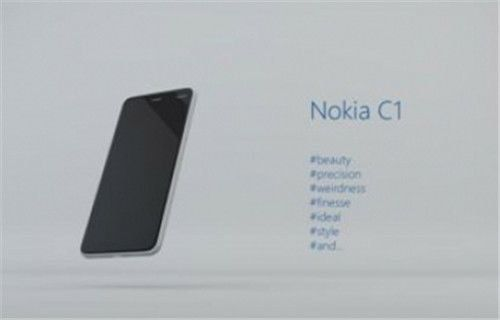 After the N1 tablet, Nokia is back with another Android-powered smartphone, the C1.