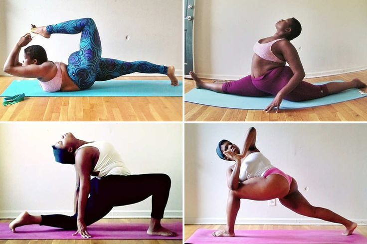 The Woman Fighting Yoga's Skinny-Girl Stereotype -- The Cut