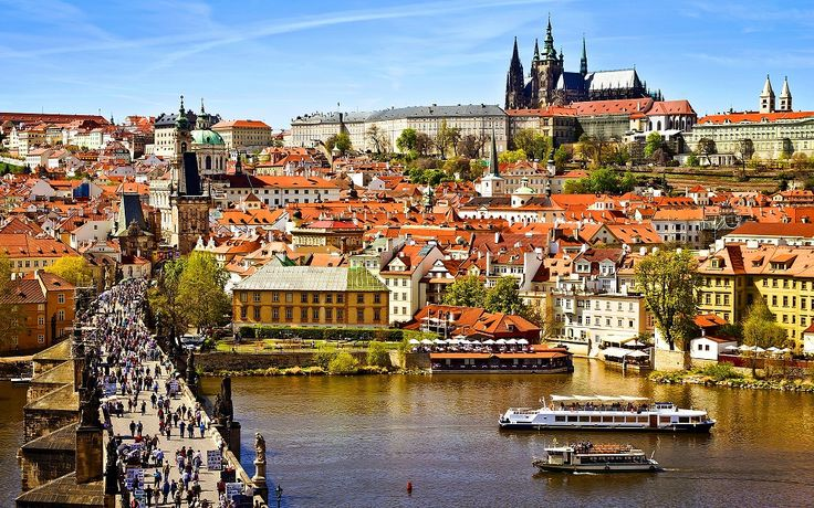 Embark on an enriching experience of Central #Europe's capital cities - #Vienna, #Budapest and #Prague .