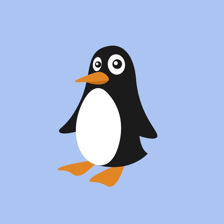 Vector Penguin by Lorenzo Sabia.