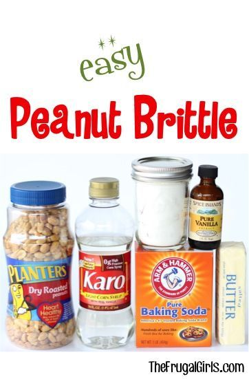 Easy Peanut Brittle Recipe! | The Frugal Girls | Bloglovin'