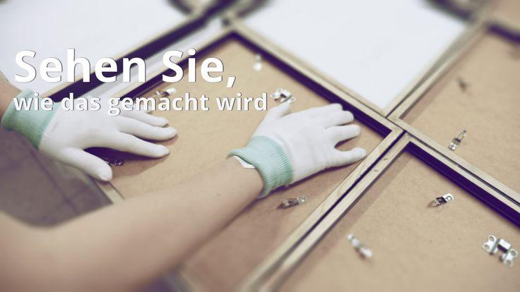 Poster/Bilder in Rahmen