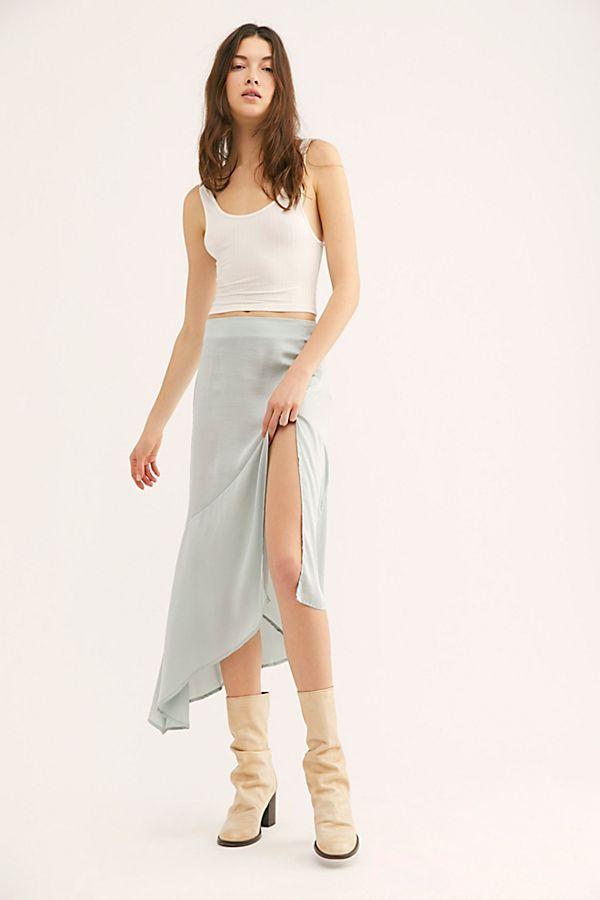 583a8d2101 Lola Slit Skirt in 2019 | vêtements | Slit skirt, Skirts, Fashion