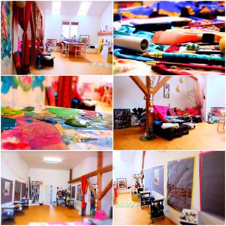 Eindrücke aus dem Workshopraum von Colour4yourLife