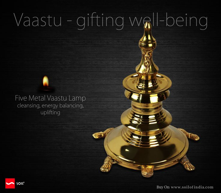 #SoilOfIndia This #vaastulamp is created on the principles of vaastu shastra (sacred texts) and has proven over time to provide the desired energy shift and positive change in the dwelling and its occupants, subject to its appropriate placement, ritualistic usage with reverence and belief.  It claims to bring about positive shifts virtually immediately as it cleanses the space of the entire dwelling.