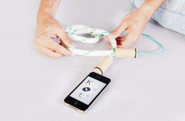 在 iPhone 上實現視覺和聲音的結合 Knot(e) - DigiLog