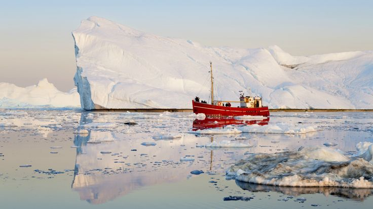 Wild swarms of Arctic icebergs are making shipping companies miserable