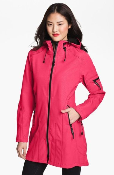 Ilse Jacobsen Rain 7 Hooded Water Resistant Coat available at #Nordstrom