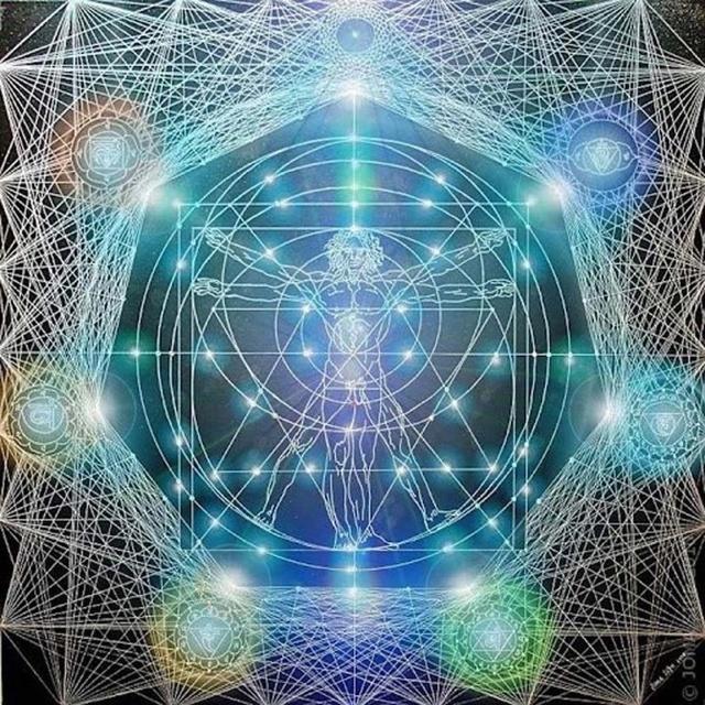 Sacred geometry. Explanação dos 7 elementos implatados nos corpos humanos, e suas aresa de atuação dentro do campo energetico corporal....