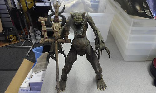 Mouse over image to zoom                     MCFARLANE TOYS 1997 SPAWN THE MOVIE MALEBOLGIA DELUXE ACTION FIGURE