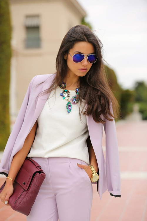 17 Best images about Womens suits on Pinterest | Chic, Pastel and ...