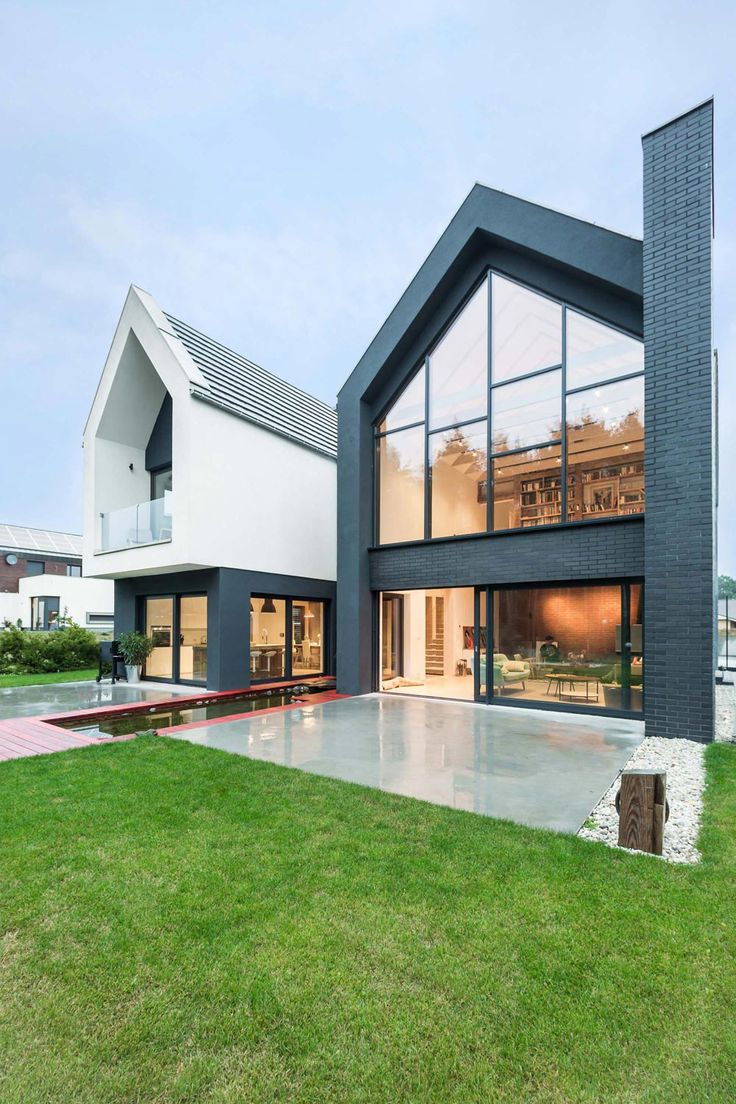 A house in poland with framed views