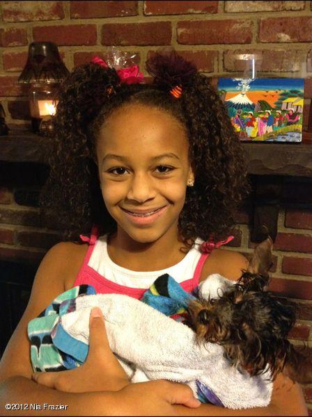 STAREE Nia Frazier: My little baby dog Henry!!!!