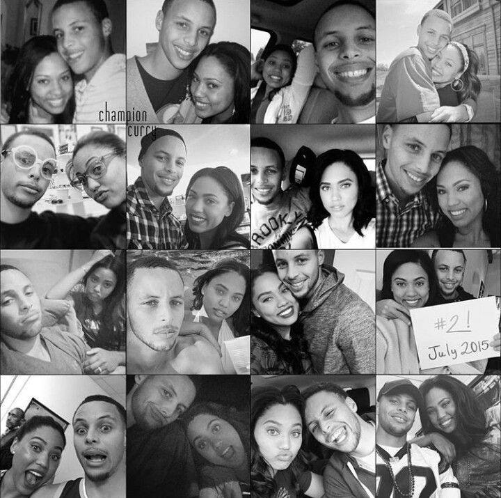 Like what you see⁉ Follow me on Pinterest ✨: @joyceejoseph ~ Ayesha and Stephen Curry over the years...