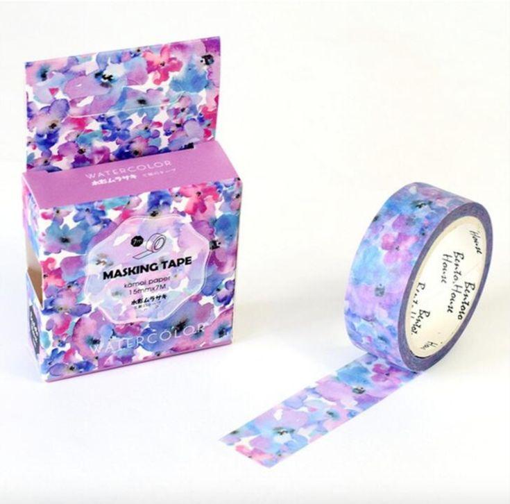 Splash of Lavender Washi Tape 15mmx7m