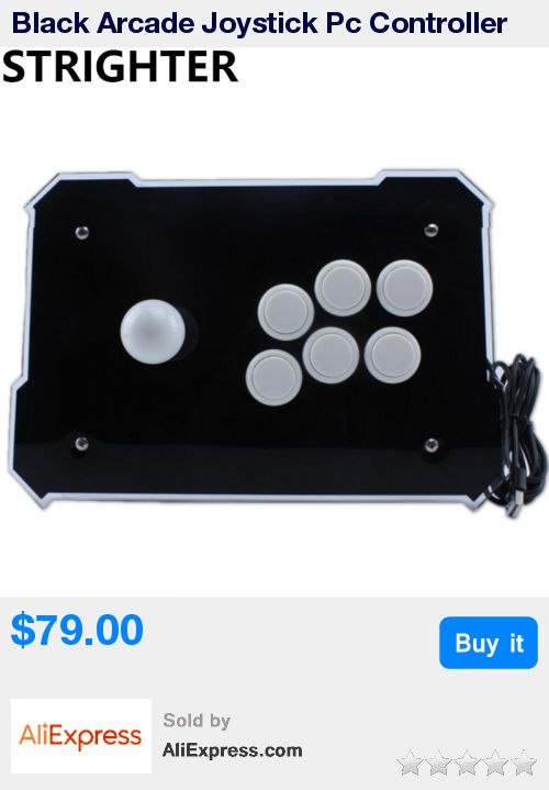 Black Arcade Joystick Pc Controller Computer Game Joystick Usb Connector New King of Fighters Joystick Consoles * Pub Date: 06:45 Sep 14 2017