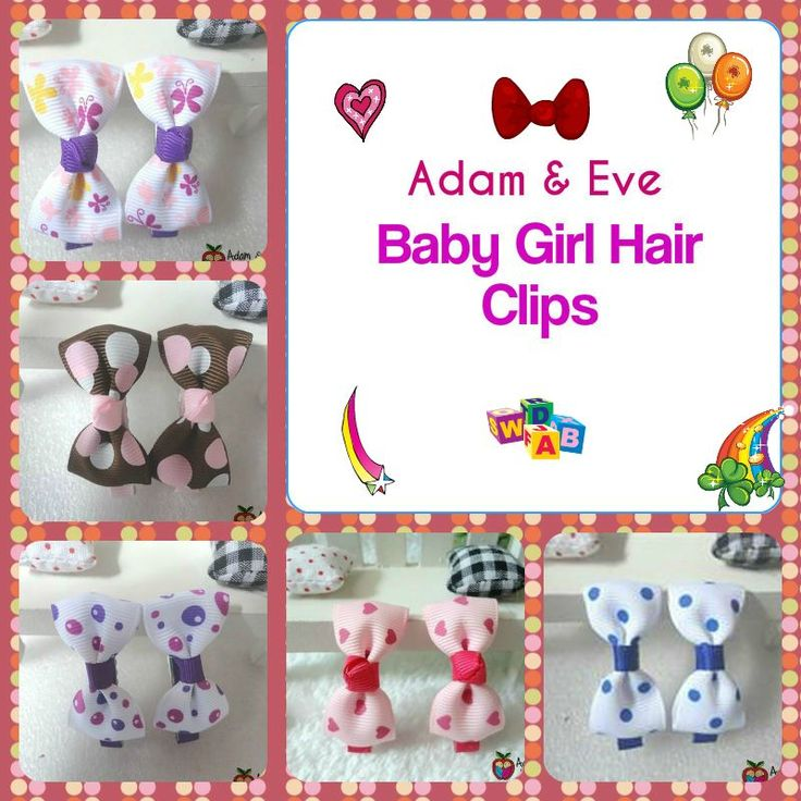 . Adam & Eve Baby Wear has a big range baby girls Hair Clips with a wide range of brands & designs. Make sure you keep your little looking stylish & comfy by choosing any of Hair Clips. http://www.adamandevebabywear.com.au/c/4372646/1/hair-clips.html