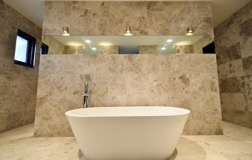 Turko Argento Walls Bathroom