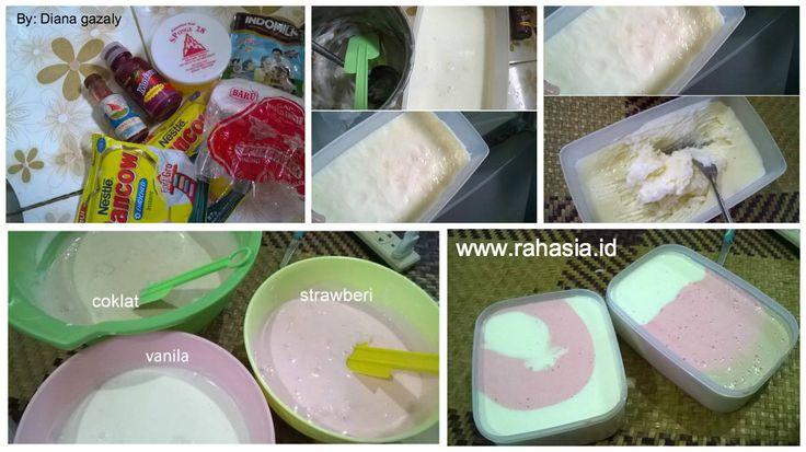 Suka es krim? Hehe siapa sih yang nggak suka dengan es krim yang manis, gurih dan lembut? Tidak hanya anak-anak saja, orang tua pun banya...