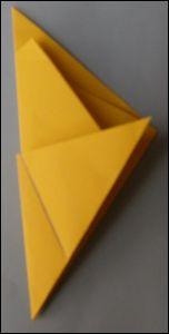 Etoile de NOEL fabriquer une étoile de Noël en papier étoile à 5 branches découpage pliage