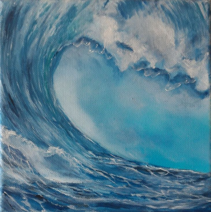 Buy Wave #009, Oil painting by Gianluca Cremonesi on Artfinder. Discover thousands of other original paintings, prints, sculptures and photography from independent artists.