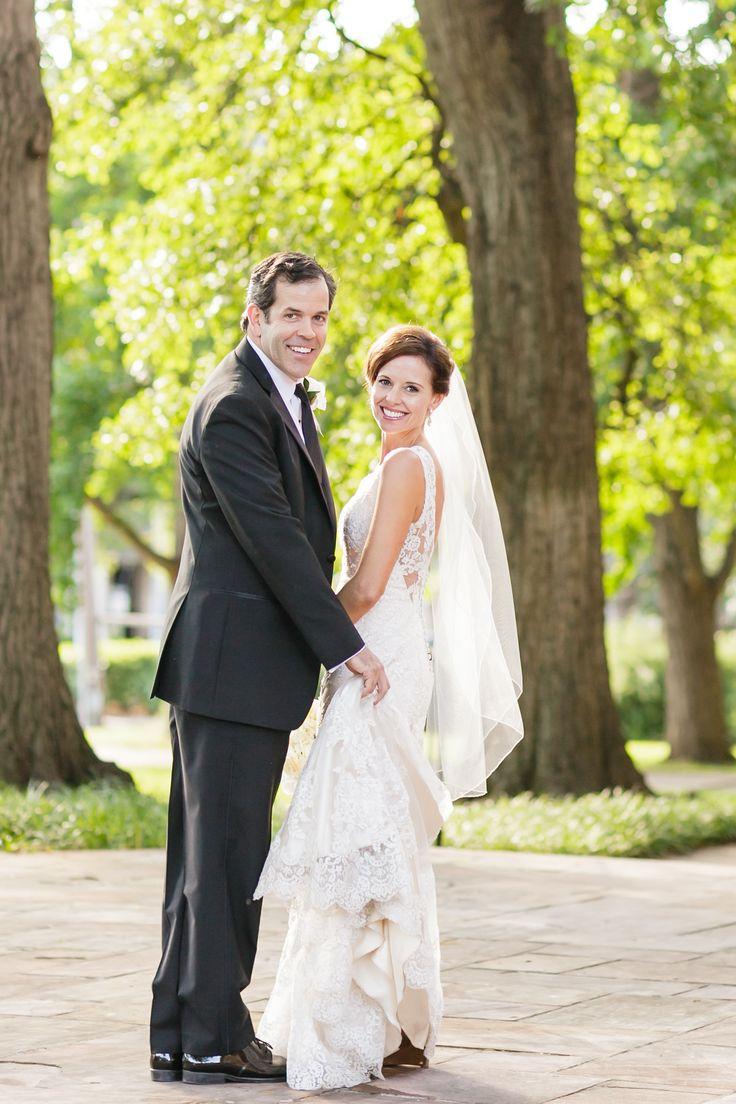 Gorgeous Green & White Wedding on Borrowed & Blue.  Photo Credit: Kristin Vanzant Photography