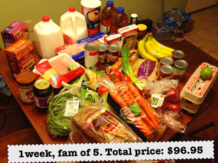 A week-long menu of healthy and affordable meals, and a way to help a food bank win 1000 dollars.
