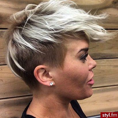 Undercut coiffures à la mode pour les femmes