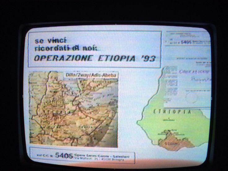 Lotto - My Story - My Program -TELESCALEAMEDIA 1993 - L'aspetto filantropico.