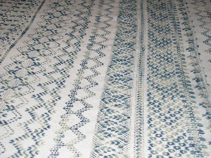 swedish weaving | Gray Swedish Weaving Blanket by NeenersWeaving on Etsy