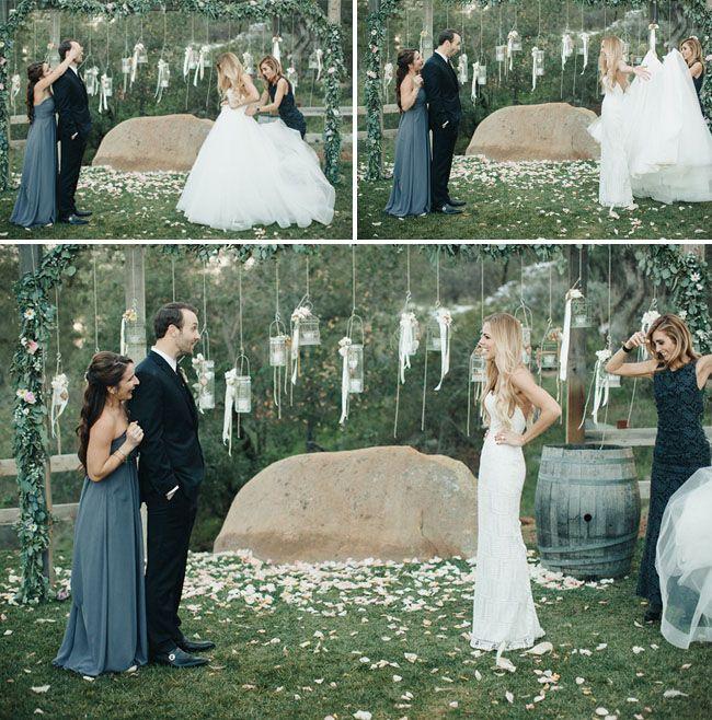 Surprise dress reveal! Removeable skirt. Custom skirt. Convertible wedding dress. Ball gown.