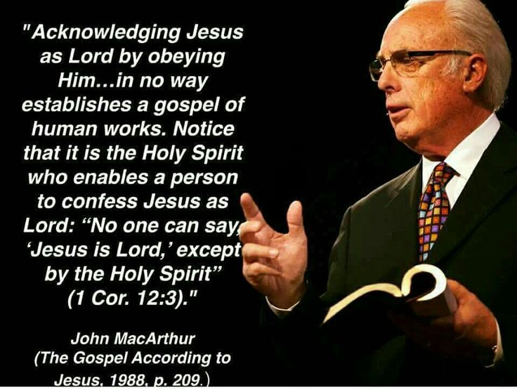 christian quotes | biblical | John MacArthur quotes | obedience | Holy Spirit