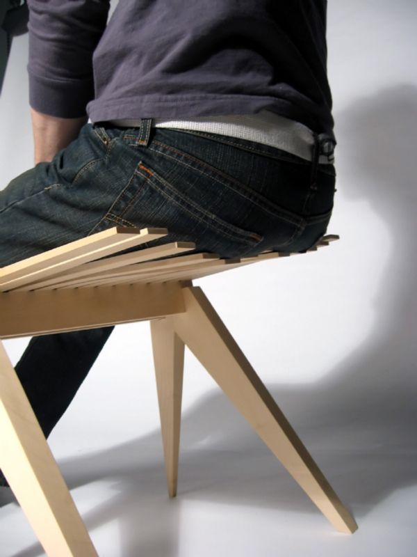 Perch Stool by Henry Julier