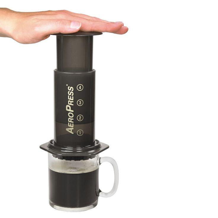 AeroPress Coffee and Espresso Maker, Black