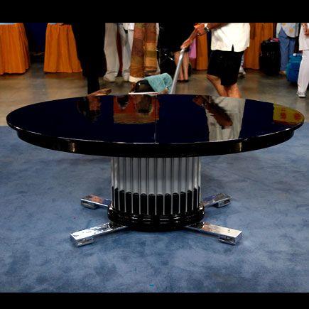 Johnson Furniture Company Art Deco Table, Ca. 1955