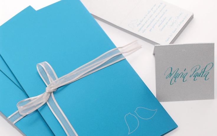 Una Tarjeta diseñada para una gran amiga donde los pajaritos llenos de deseos para los novios fueron los protagonosta de esta linda celebracion  tutarjetap@hotmail.com
