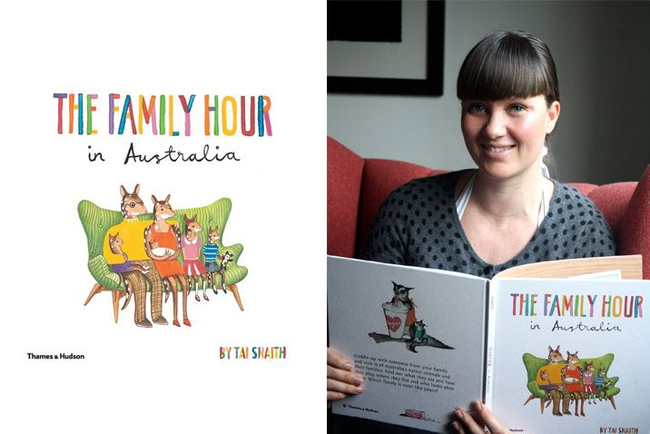 Blog - The Family Hour - Interview with Writer and Illustrator Tai Snaith | Littleville.com.au  One of the many joys of parenthood is snuggling down with your little ones to enjoy a good book together.  Imagine if you can, the double pleasure of being able to read your child a book that you had not only written, but also illustrated? We had the pleasure of catching up with Tai Snaith the multi-talented artist, writer, illustrator and mother to discuss her first children's book - The Family…