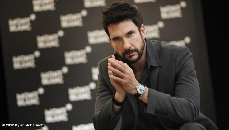 """Dylan McDermott's photo """"Thank you everyone at MontBlanc Singapore! Some of the …"""""""