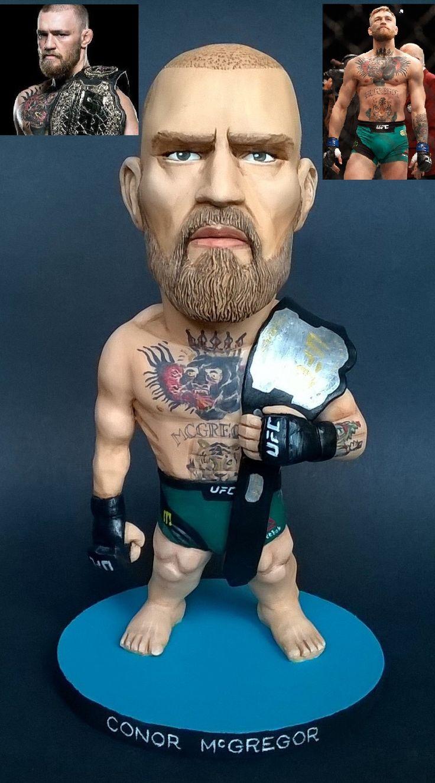 UFC Conor McGregor custom sculpture by Mizog Collectibles