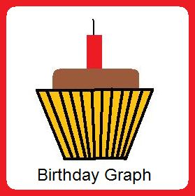 Classroom Freebies Too: Back to School Math Assignment: Birthday Graph