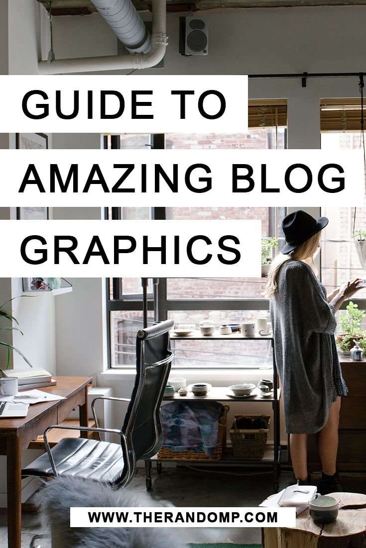 Guide to amazing blog graphics: step by step http://therandomp.com/blog/guide-to-amazing-blog-graphics