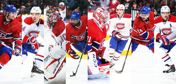 Félicitations aux huit joueurs des Canadiens de Montréal qui représenteront leurs équipes nationales à #Sotchi2014! / Congratulations to the eight Montreal Canadiens players selected to represent their country in #Sochi2014!