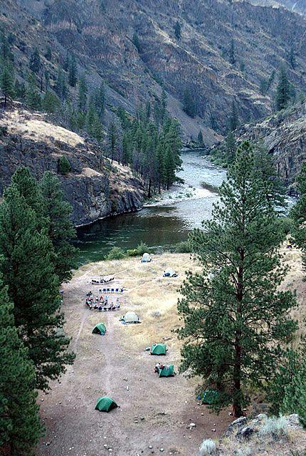 middle fork salmon river, idaho