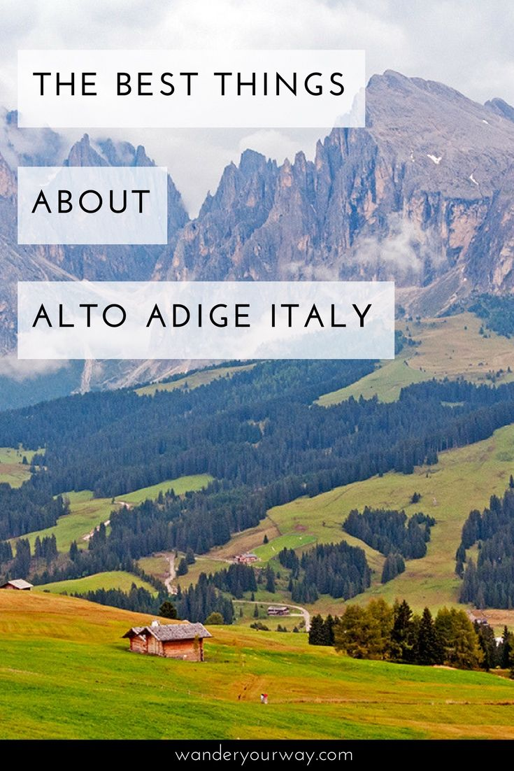The province of Alto Adige is located in the far north of Italy — and it's an incredibly fascinating and beautiful part of the boot. Here's a list of the best things about this unique area of Italy. Click through to find out more.