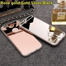 New Rose gold Luxury Mirror Soft Clear TPU Case For iphone 6 6S 4.7 inch &…