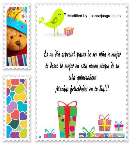 descargar textos bonitos para quinceañera para Whatsapp,mensajes de texto para quinceañera,palabras para saludar a quinceañera: http://www.consejosgratis.es/ejemplo-de-discurso-para-una-quinceanera/
