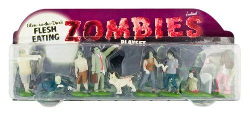 Accoutrements Glow In The Dark Flesh Eating Zombies Play Set by Accoutrements, http://www.amazon.com/dp/B000OE3M48/ref=cm_sw_r_pi_dp_VQYYqb1V9GH6Z #mike1242