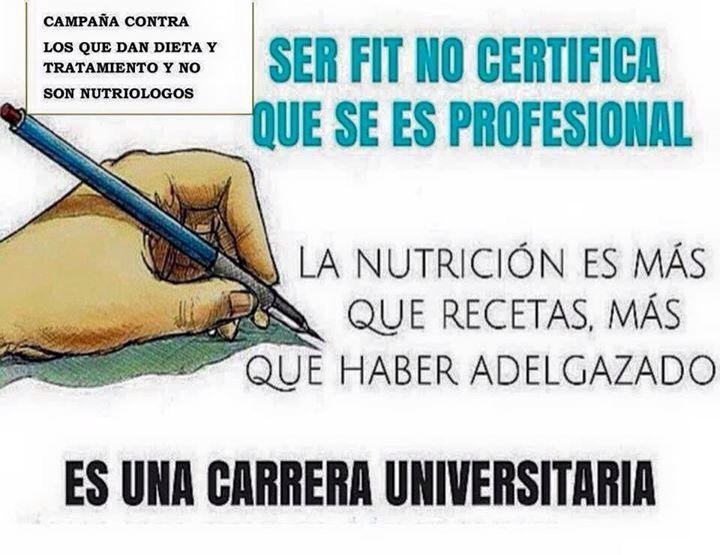 La importancia del nutriólogo